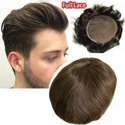 Thyroid men hair wig
