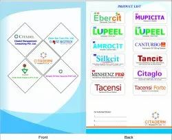 Pharma Reminder Cards Printing Services, in India