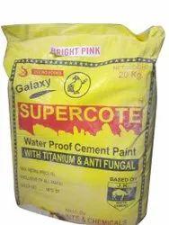 Supercote Waterproof Cement Paint, Packaging Type: Plastic Bag, Packaging Size: 20 Kg