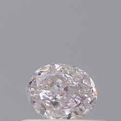 Oval 0.35ct Very Light Pink VS1 GIA Certified Natural Diamond