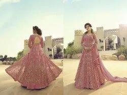 4 Color Ladies Designer Heavy Work Gown