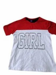 Cotton Casual Wear Kids Printed Tshirt