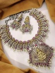 Mata Laxmi  Designer Necklace Set