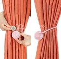 Pink Magnet Curtain Tieback