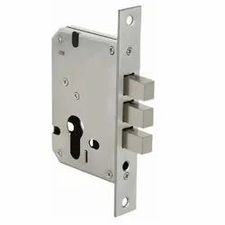 Customised 3 Bullet Square Mild Steel 45mm Door Deadlock -26