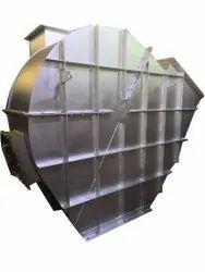 Wall Mounted Fan Mild Steel Induced Draft Fans, For Industrial