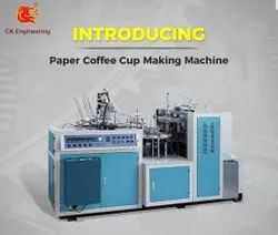Fully Auto High Speed Tea Cup Making Machine