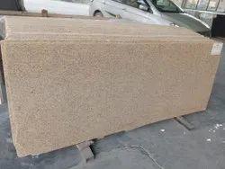 Polished Italian Beige Granite Slab, For Flooring, Thickness: 15-20 mm