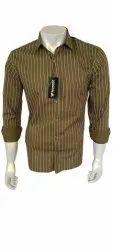 Men Striped Cotton Shirt