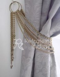 Gorgeous Metal Curtain Tieback