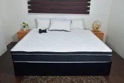 White Memory Foam Sleeping Mattress, Size/Dimension: 78x72 Inch, Thickness: 5 Inch