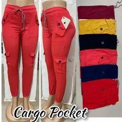 Ladies Cargo Pocket Pant