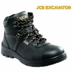 JCB Excavator PU Leather Safety / Industrial Shoes