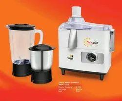 500W Sunglan JMGK 1002 Juicer Mixer Grinder, Capacity: 2 Jars