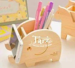 Wooden Stationary Organiser- 01