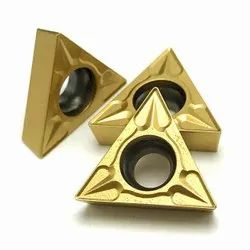 Copper PVD Triangle Carbide Inserts, For Machinery Processing