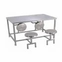 Four Seater Canteen Table