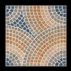 Ceramic Multicolor Parking Dots Tiles, Tile Size: 30*30, Thickness: 8 - 10 mm