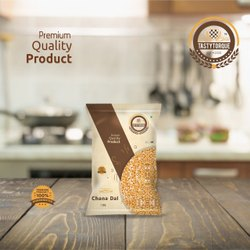 Tasty Torque Premium Quality 1kG Chana Dal, High In Protein