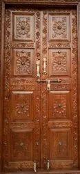 Full Carving Door Sagwan, For Home