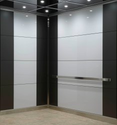Steel Powder Coated Elevator Cabin