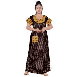 Cotton Night Suit For Women, Size: UPTO 44 XXL