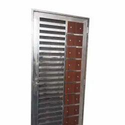 Modern Stainless Steel Single Door Gate