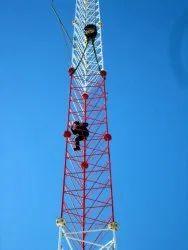 20  -  30公里的镀锌铁自助塔,电信