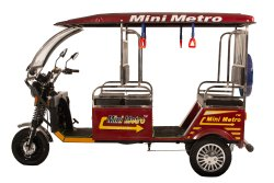 Mini Metro(Gold) Rickshaw