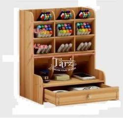 Wooden Stationary Organiser- 03
