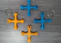 Panel Lock Key, Triangle, Square, Minus, Combination