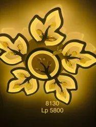 LED Brass Chandelier Light