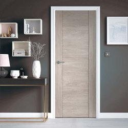 RE004 Wooden Laminate Door