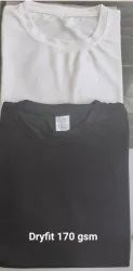 Round Neck Dry Fit T Shirt