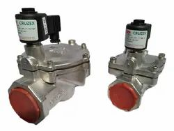 1 1/2 Pilot Operated Diaphragm Type Solenoid High Pressure Valve (NC)
