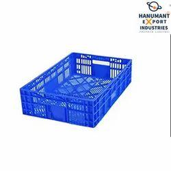 Blue Supreme Plastic Crate