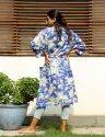 Beachwear Floral Print Kimono