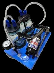Suction Machine Double Jar Foot Operated