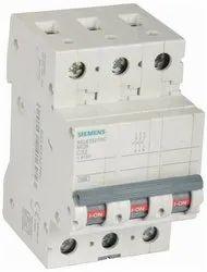 32A Triple Pole 5SL63327RC Siemens MCB Switch