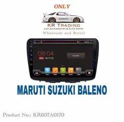 Wireless Maruti Suzuki Baleno Android Music Player, Size: 45 X 110 Cm, Screen Size: 10 Inch