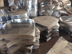 Dona Silver Paper Raw Material, Packaging Type: Roll