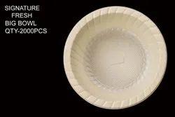 Plastic White Signature Fresh Big Bowl