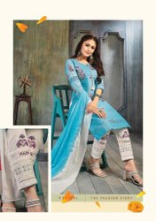 Kiana Sitara Series 001-008 Schiffli Digital Print Readymade Sharara Style Suit