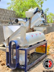 SS Plastic Scrap Dryer Machine