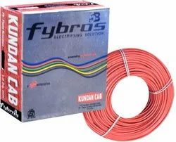 Red Fybros PVC Insulated House Wire