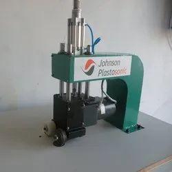 Johnson Plastosonic Stainless Steel,Mild Steel Ultrasonic Bag Sealing Machine, Voltage: 230 V Ac, Capacity: 50 Pouch per hour