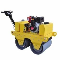 Walk Behind Double Drum Vibrator Roller