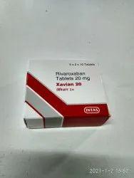 Intas Rivaroxaban Tablets 20 mg