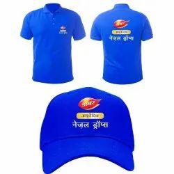 Cotton T-Shirt Cap Printing Service