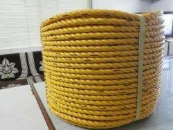 Yellow PP Polypropylene Rope